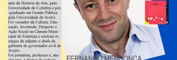 Fernando Mendonça no Agrupamento de Escolas Morgado de Mateus